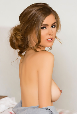 /Amberleigh West at private nude party